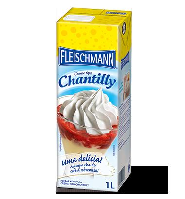 Creme tipo Chantilly tradicional